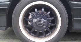 Honda CRX ED9 (D16Z5): ATS Alufelgen mit Rissen im Klarlack