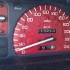 Honda CRX ED9 (D16Z5): mhw Tachoscheibe in Rot: Blasen
